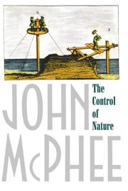 Cover art for THE CONTROL OF NATURE