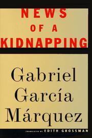 Book Cover for NEWS OF A KIDNAPPING