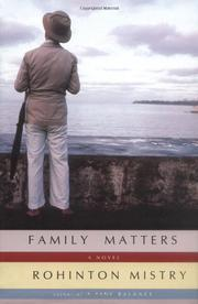 Book Cover for FAMILY MATTERS