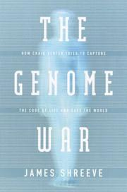 Cover art for THE GENOME WAR