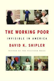 Book Cover for THE WORKING POOR