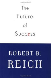 Cover art for THE FUTURE OF SUCCESS