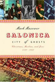 Book Cover for SALONICA, CITY OF GHOSTS