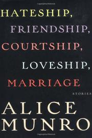 Cover art for HATESHIP, FRIENDSHIP, COURTSHIP, LOVESHIP, MARRIAGE