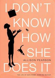 Cover art for I DON'T KNOW HOW SHE DOES IT