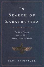 Cover art for IN SEARCH OF ZARATHUSTRA