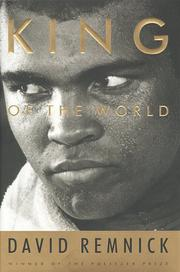 Book Cover for KING OF THE WORLD