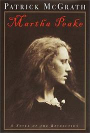 Cover art for MARTHA PEAKE