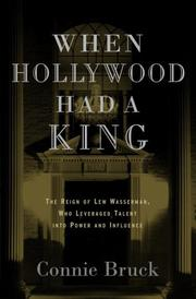 Book Cover for WHEN HOLLYWOOD HAD A KING