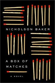 Cover art for A BOX OF MATCHES