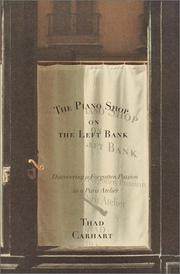 Cover art for THE PIANO SHOP ON THE LEFT BANK