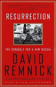 Book Cover for RESURRECTION: The Struggle for a New Russia