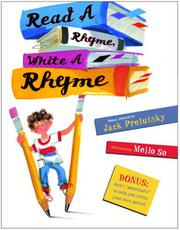 Cover art for READ A RHYME, WRITE A RHYME