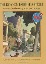 Cover art for THE BOY ON FAIRFIELD STREET