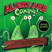 Cover art for ALIENS ARE COMING!