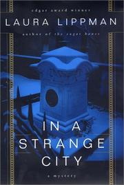 Cover art for IN A STRANGE CITY