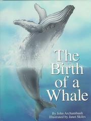 Cover art for THE BIRTH OF A WHALE