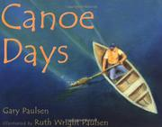 Book Cover for CANOE DAYS