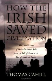 Cover art for HOW THE IRISH SAVED CIVILIZATION