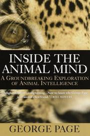 Cover art for INSIDE THE ANIMAL MIND