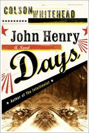 Book Cover for JOHN HENRY DAYS