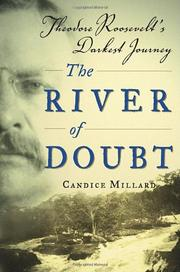 Cover art for THE RIVER OF DOUBT