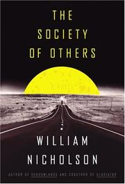 Cover art for THE SOCIETY OF OTHERS