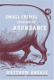 Cover art for SMALL CRIMES IN AN AGE OF ABUNDANCE