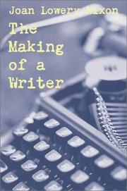 Cover art for THE MAKING OF A WRITER