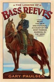 Cover art for THE LEGEND OF BASS REEVES