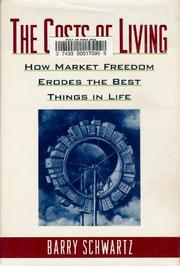 Cover art for THE COSTS OF LIVING