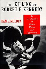 Cover art for THE KILLING OF ROBERT F. KENNEDY
