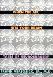 Book Cover for WHEN THE AIR HITS YOUR BRAIN