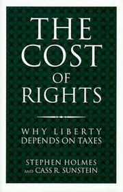Cover art for THE COST OF RIGHTS