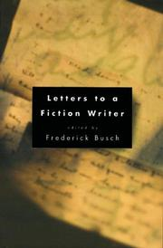 Book Cover for LETTERS TO A FICTION WRITER