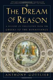 Cover art for THE DREAM OF REASON