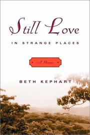 Cover art for STILL LOVE IN STRANGE PLACES