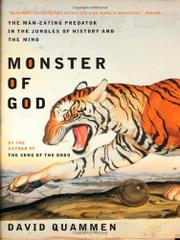 Book Cover for MONSTER OF GOD