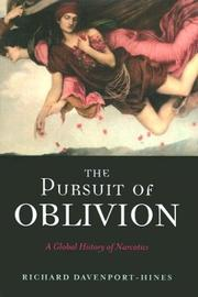 Cover art for THE PURSUIT OF OBLIVION