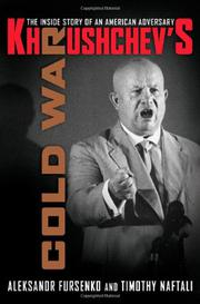 Cover art for KHRUSHCHEV'S COLD WAR