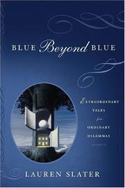 Cover art for BLUE BEYOND BLUE
