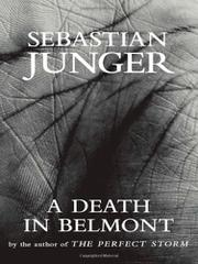 Cover art for A DEATH IN BELMONT