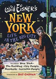 Cover art for WILL EISNER'S NEW YORK