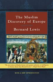 Cover art for THE MUSLIM DISCOVERY OF EUROPE
