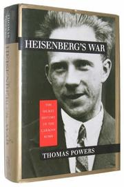 Cover art for HEISENBERG'S WAR