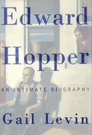 Cover art for EDWARD HOPPER