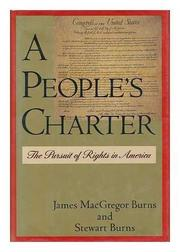 Cover art for A PEOPLE'S CHARTER
