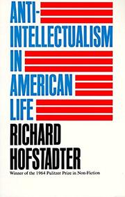 Cover art for ANTI-INTELLECTUALISM IN AMERICAN LIFE