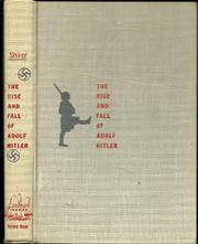 Cover art for THE RISE AND FALL OF ADOLF HITLER