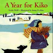 Cover art for A YEAR FOR KIKO
